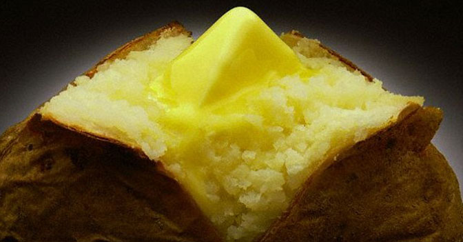 Humans Could Survive on a Diet of Just Potatoes and Butter