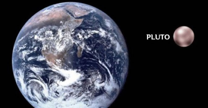 Pluto Is About the Same Surface Area As Russia