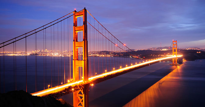 The Golden Gate Bridge Is the Site of the Most Suicides in the United States.