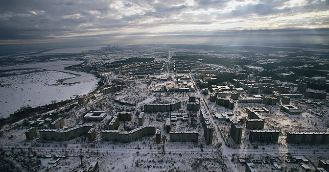 The Chernobyl Power Plant Didn't Go Completely off Line Until the Year 2000.